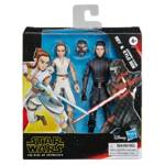 STAR WARS GALAXY OF ADVENTURES 5 INCH REY AND SUPREME LEADER KYLO REN 2 PACK in pck