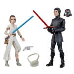 STAR WARS GALAXY OF ADVENTURES 5 INCH REY AND SUPREME LEADER KYLO REN 2 PACK oop
