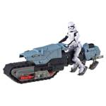 STAR WARS GALAXY OF ADVENTURES FIRST ORDER DRIVER AND TREADSPEEDER oop 1