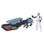 STAR WARS GALAXY OF ADVENTURES FIRST ORDER DRIVER AND TREADSPEEDER oop 2