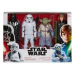 STAR WARS HERO SERIES THRONE ROOM DUEL 4 PACK in pck