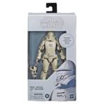 STAR WARS THE BLACK SERIES 6 INCH FIRST ORDER JET TROOPER CARBONIZED COLLECTION Figure in pck