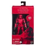 STAR WARS THE BLACK SERIES 6 INCH SITH TROOPER CARBONIZED COLLECTION Figure in pck