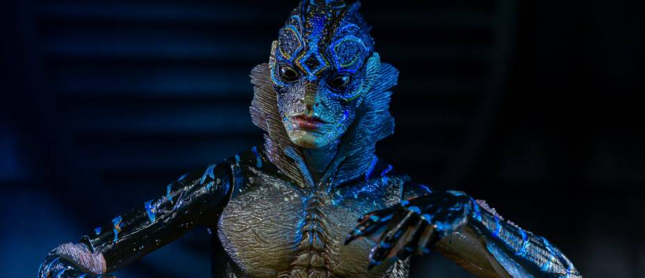Guillermo del Toro Signature Collection The Shape of Water - Amphibian Man by NECA – Toyark Photo Shoot