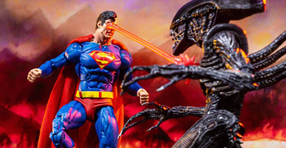 Superman vs Alien Set 050