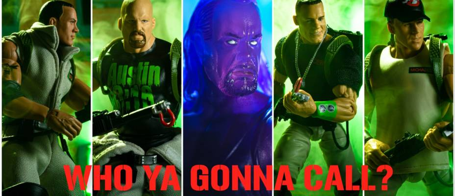Mattel WWE Elite x Ghostbusters In-Hand Gallery!