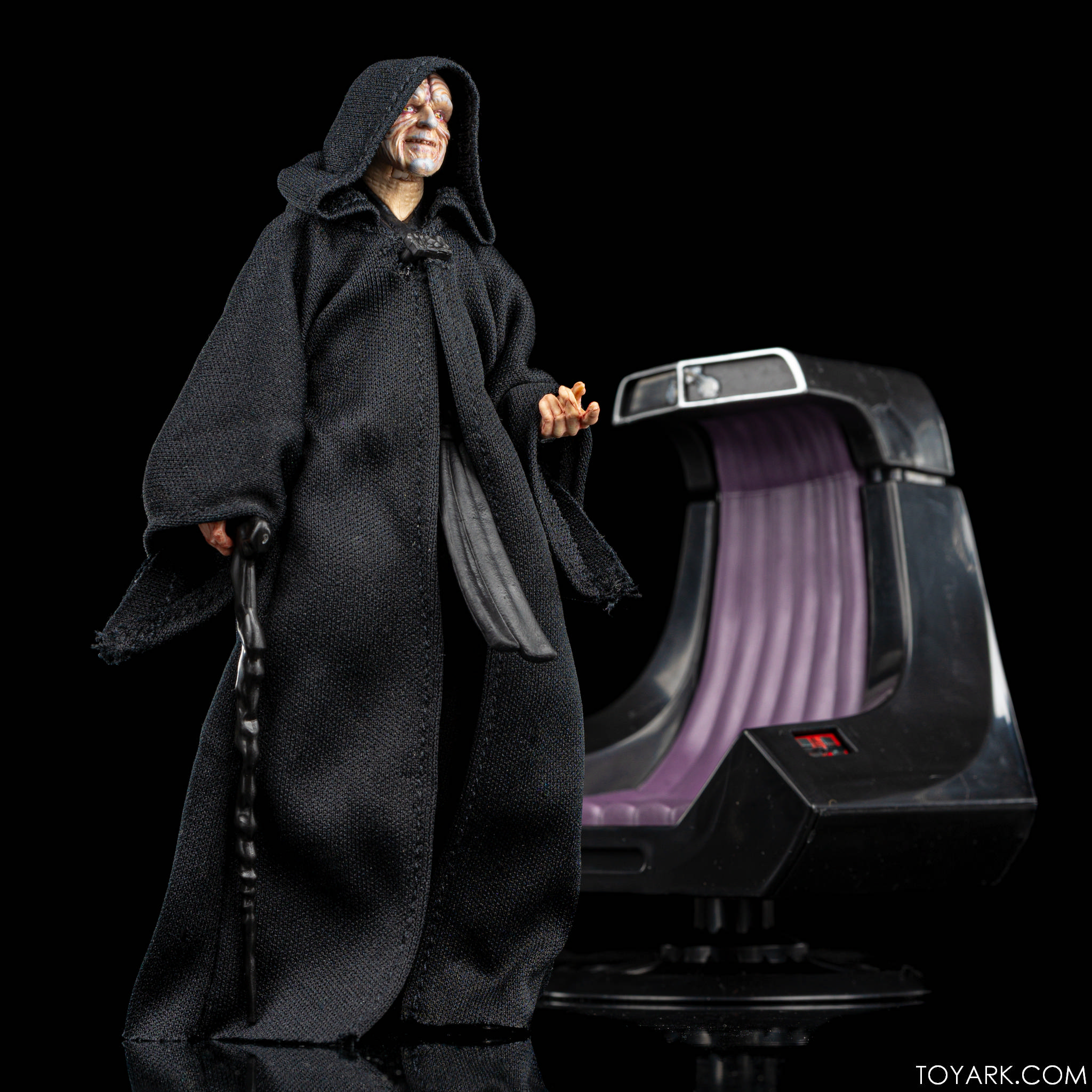 Black Series Palpatine Throne 21