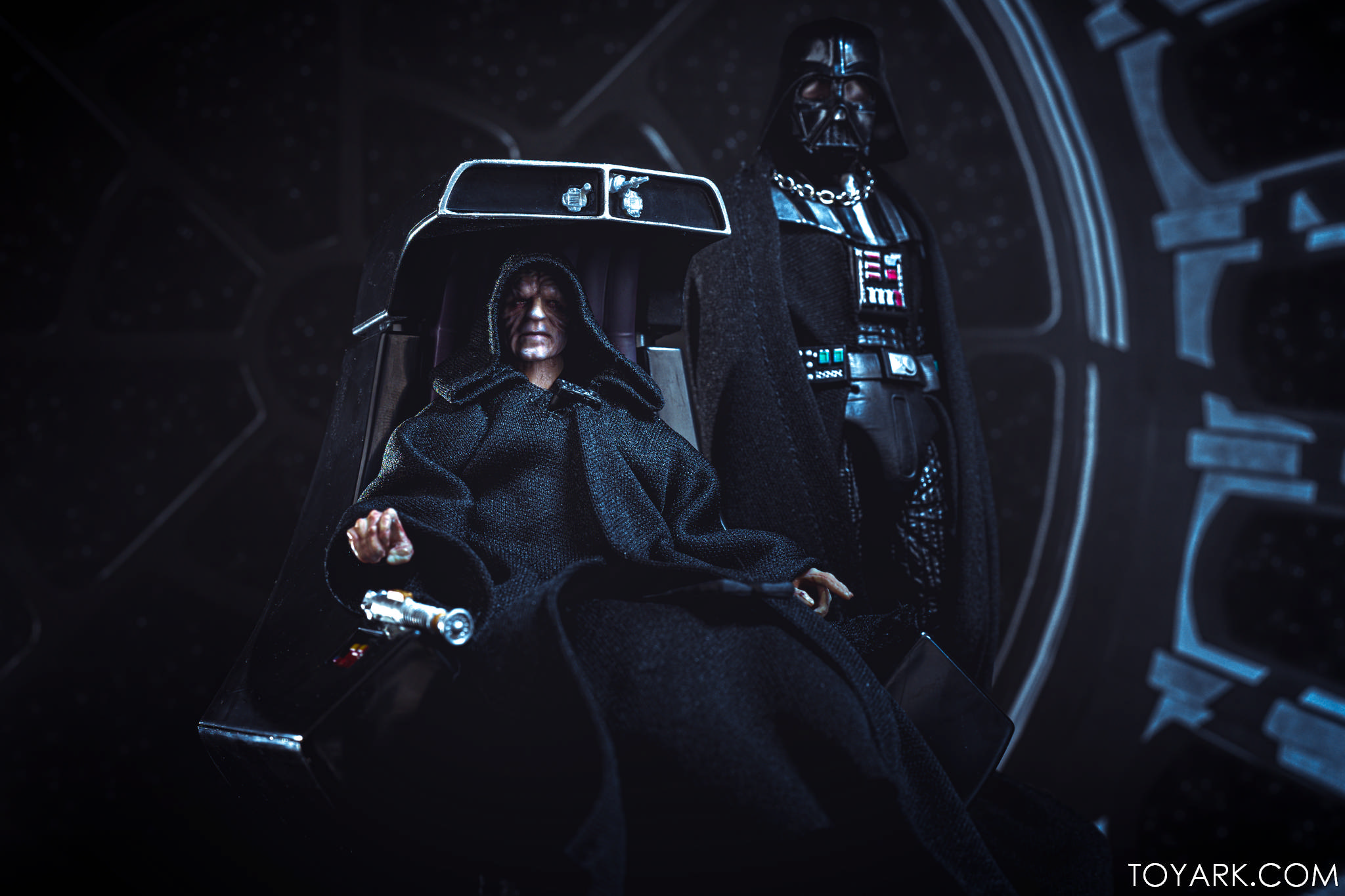 Black Series Palpatine Throne 34
