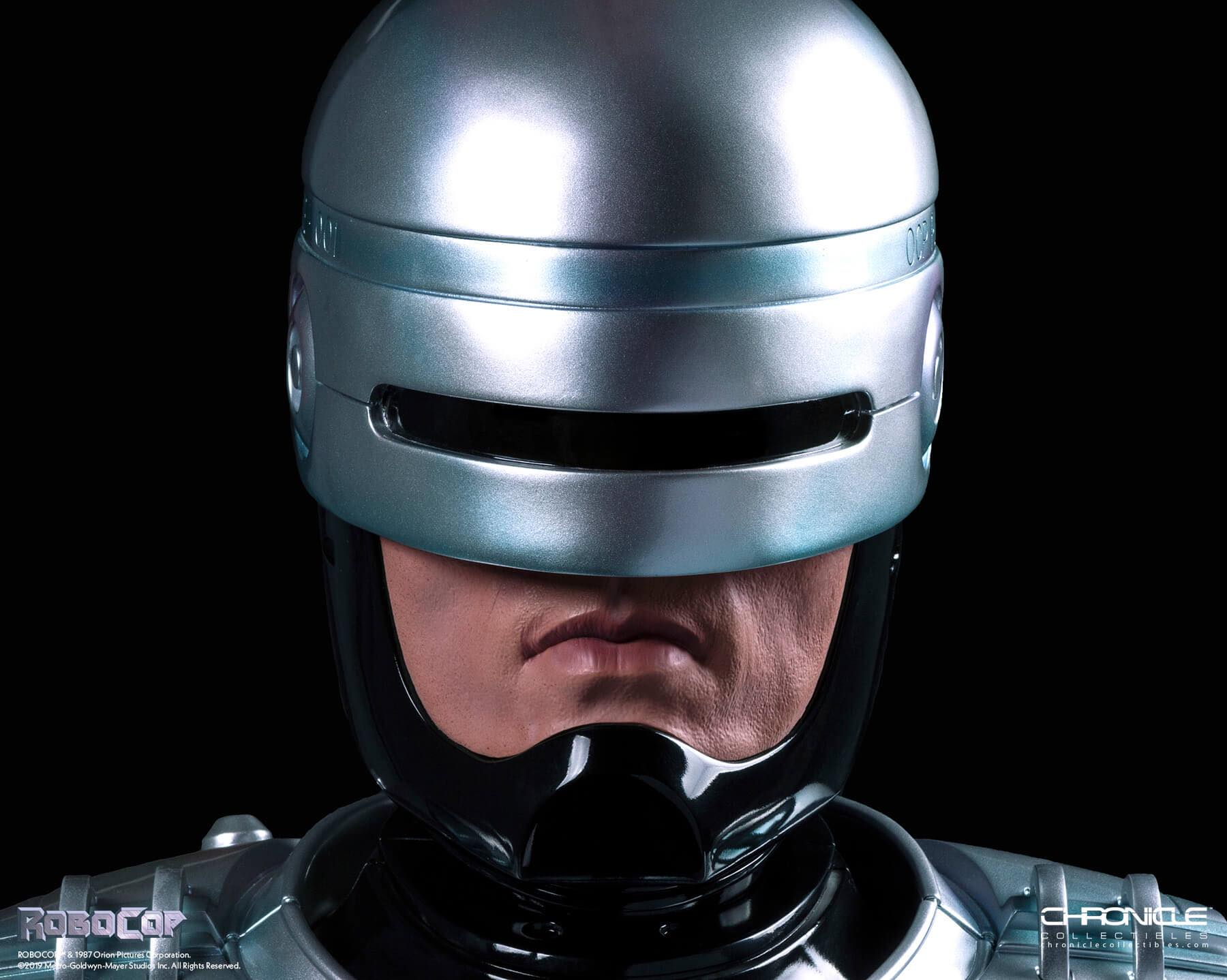 Chronicle Robocop Life Size Bust Update 001