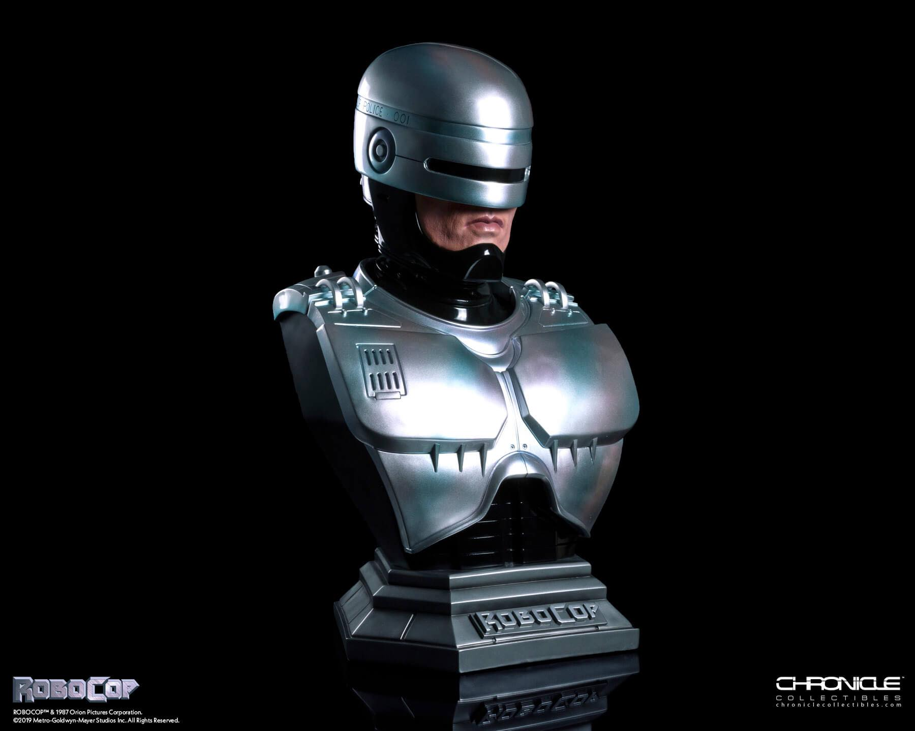 Chronicle Robocop Life Size Bust Update 003