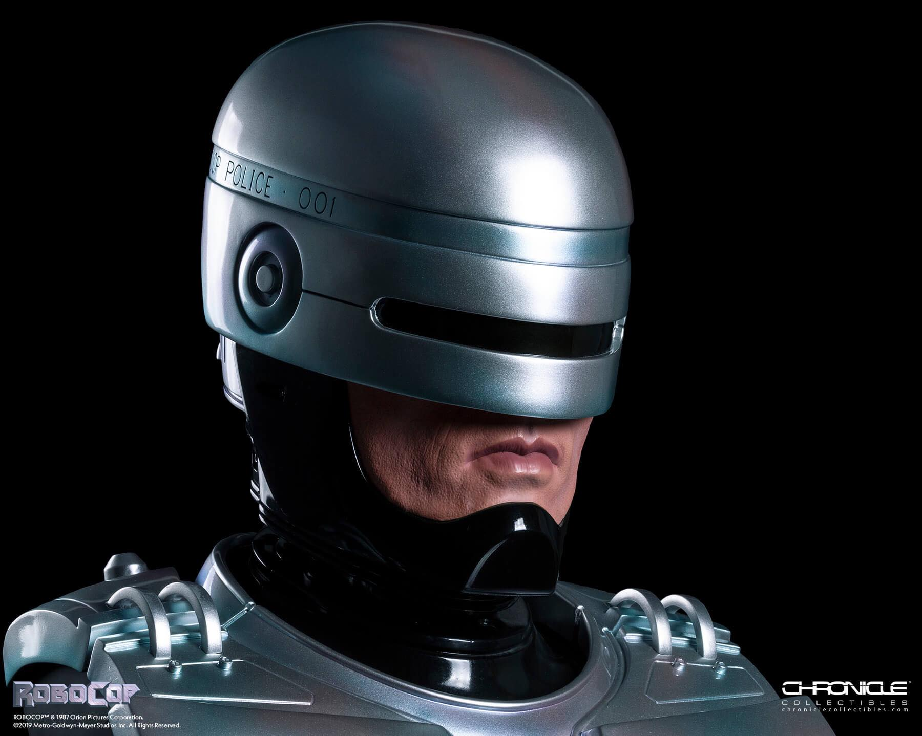 Chronicle Robocop Life Size Bust Update 004