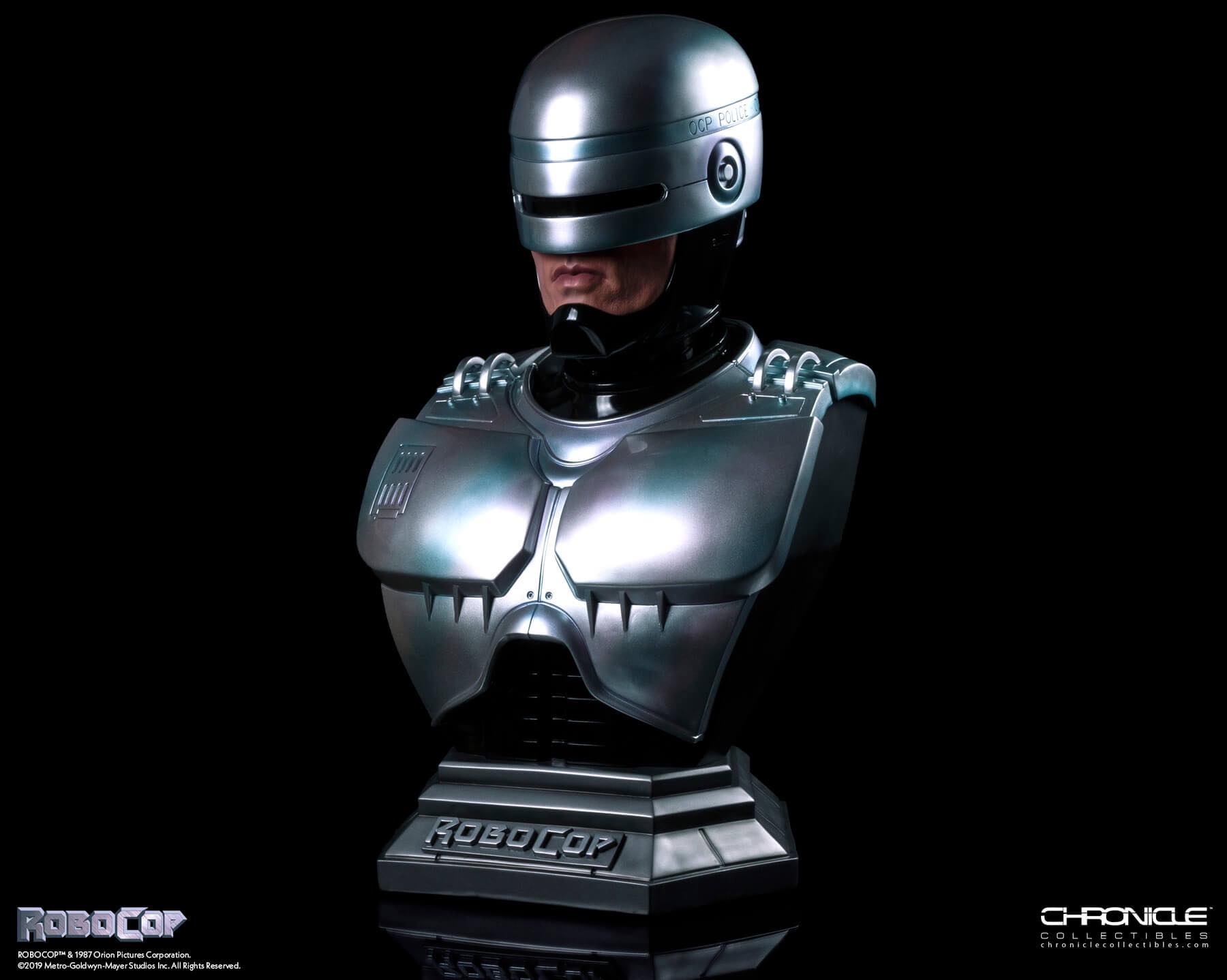 Chronicle Robocop Life Size Bust Update 005