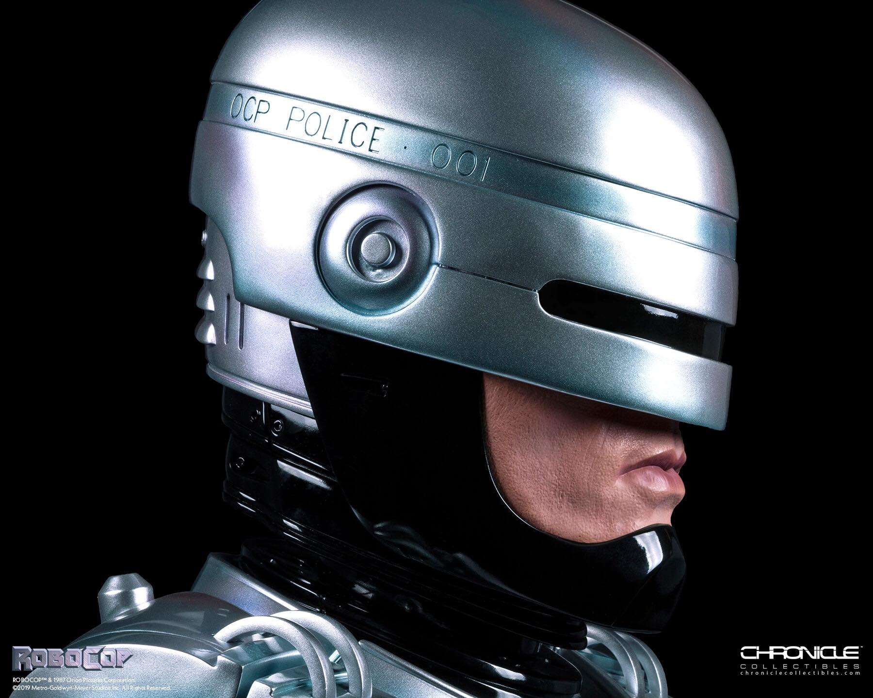 Chronicle Robocop Life Size Bust Update 006
