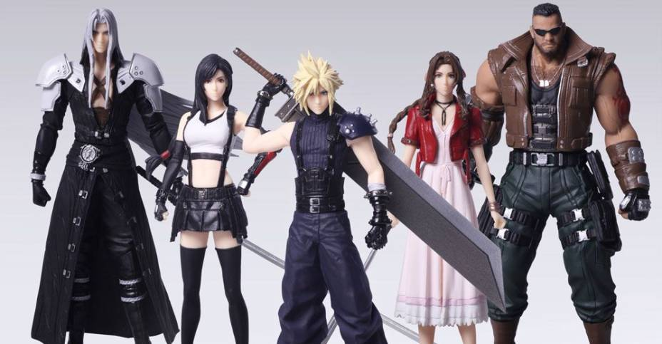 Final Fantasy Vii Remake Trading Arts By Square Enix The