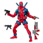 HASBRO MARVEL LEGENDS SERIES 80TH ANNIVERSARY X FORCE DEADPOOL Figure oop