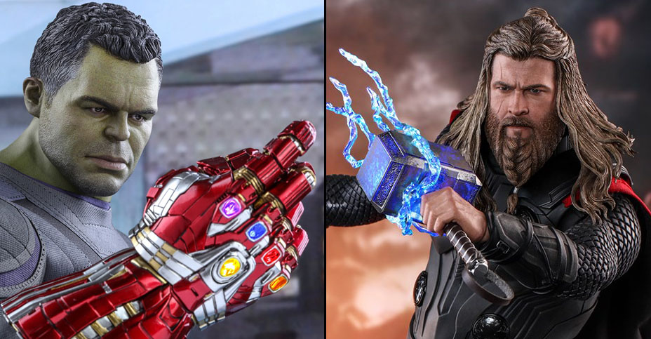 Hot Toys Avengers Endgame Hulk and Thor