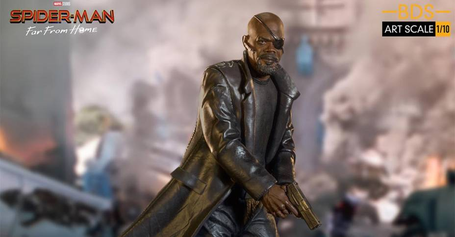 Iron Studios Nick Fury 011