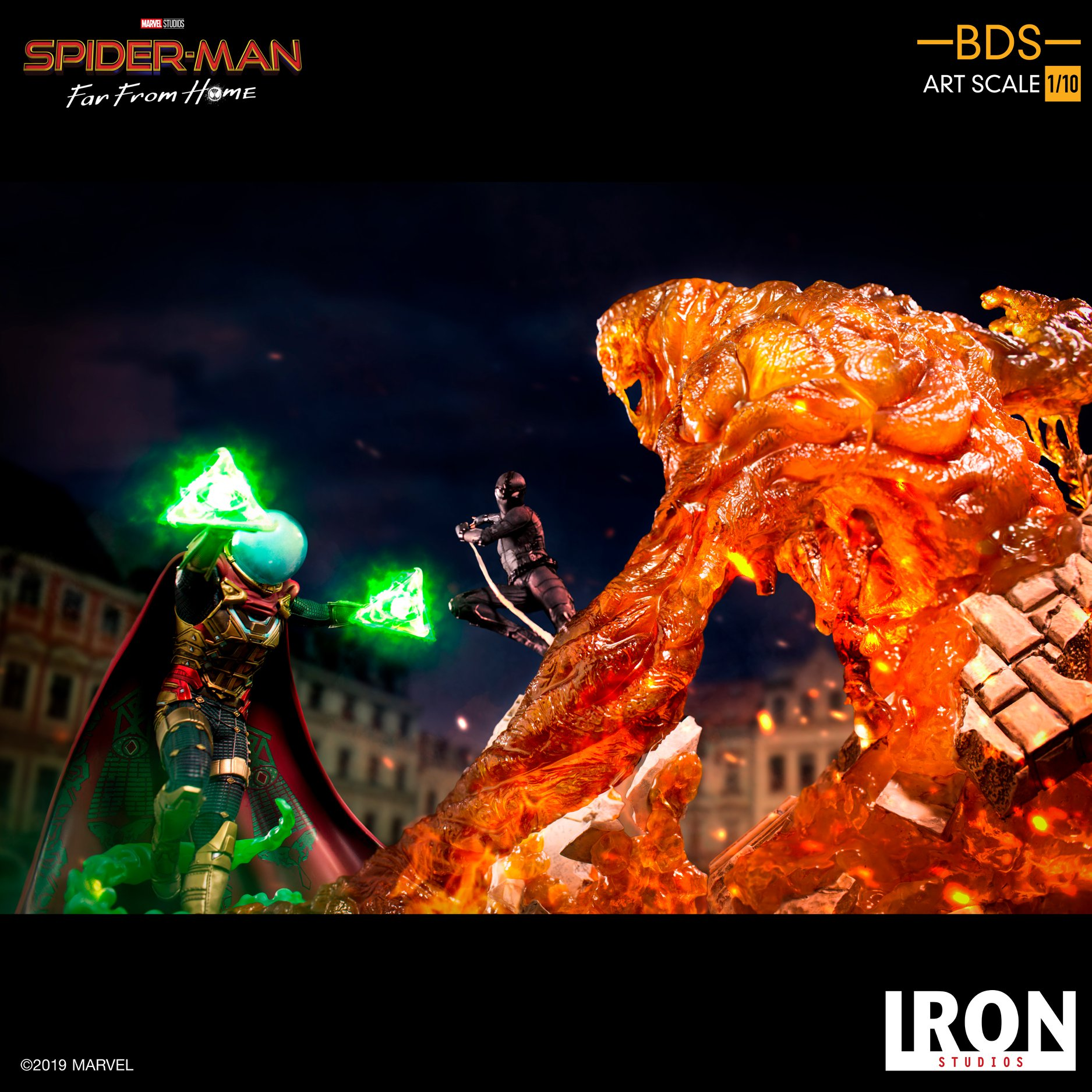 Iron Studios Spider Man Far From Home Dio