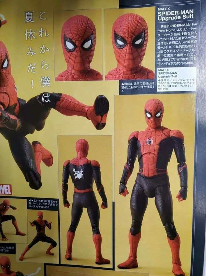 US SELLER !AUTHENTIC MAFEX No.047 MAFEX SPIDER MAN HOMECOMING Medicom Toy NEW