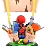 MARVEL ANIMATED DEADPOOL MERC FOR HIRE STATUE 2