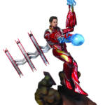 MARVEL GALLERY AVENGERS 3 UNMASKED IRON MAN MK50 DLX PVC FIG 2