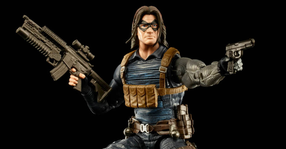 MARVEL LEGENDS SERIES 6 INCH WINTER SOLDIER Figure oop