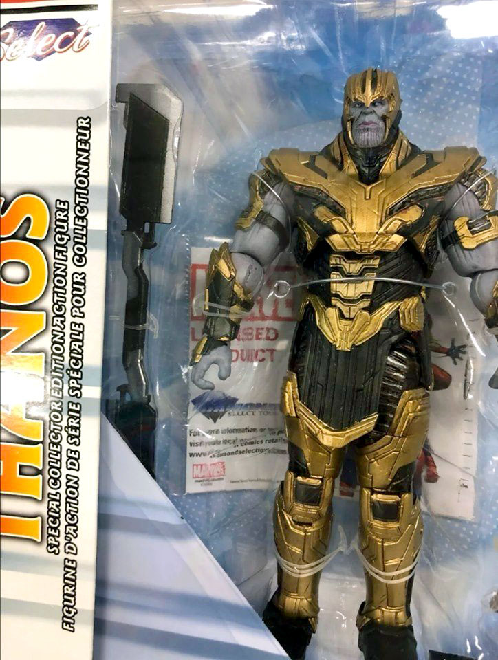 Diamond THANOS Disney Exclusive MARVEL SELECT Avengers 2018 7in.