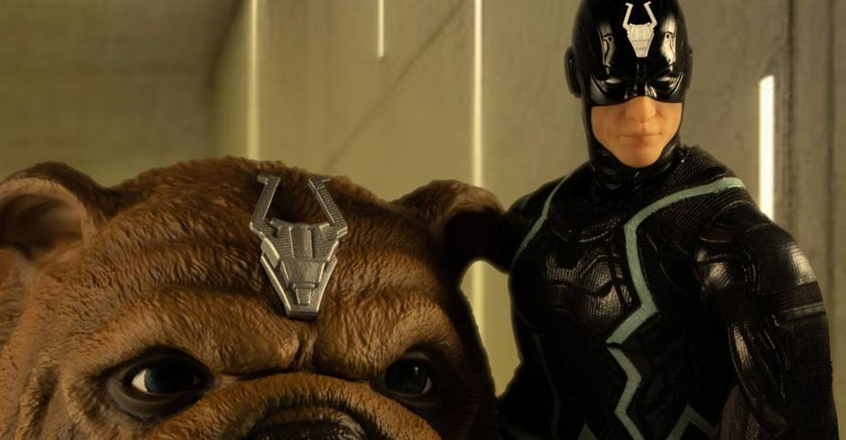 Mezco Black Bolt and Lockjaw 015