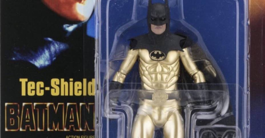 NECA Tec Shield Batman