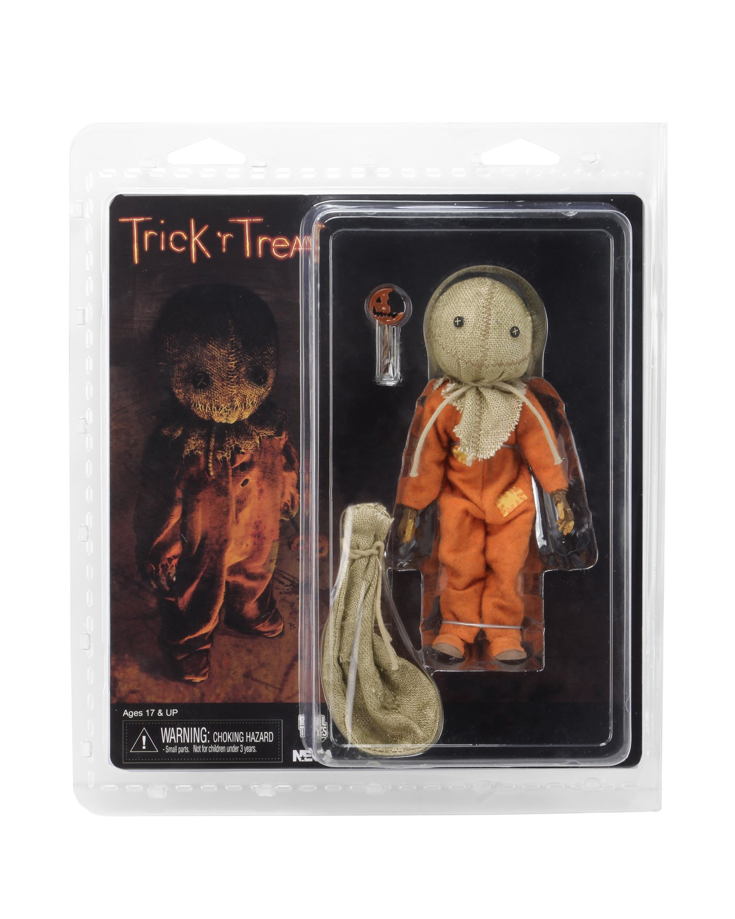 NECA Trick r Treat Sam Cloth Figure 001