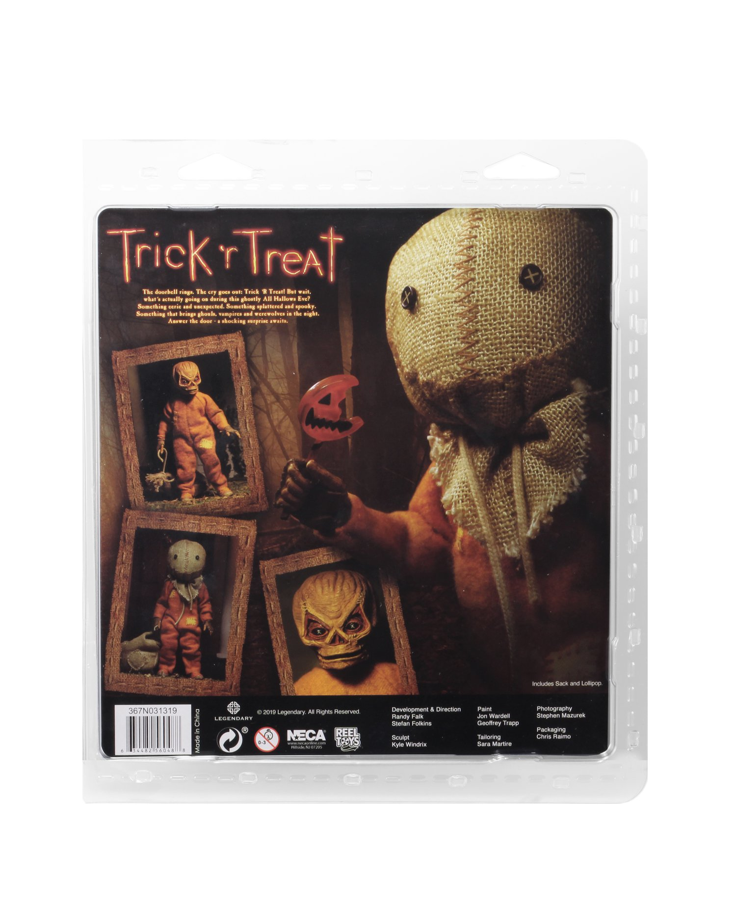 NECA Trick r Treat Sam Cloth Figure 002