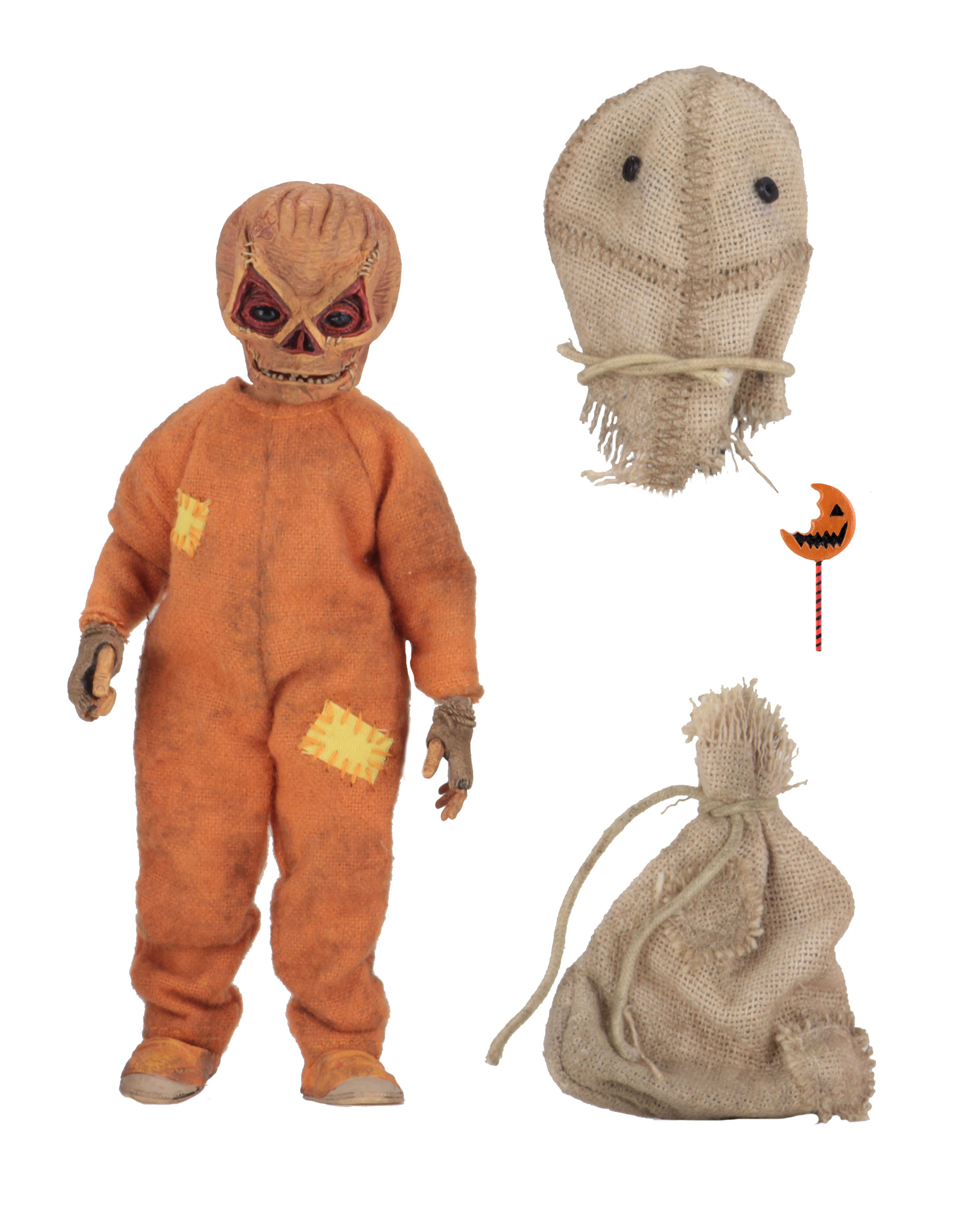 NECA Trick r Treat Sam Cloth Figure 003