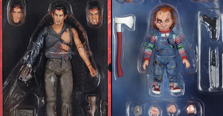 NECA Walmart Ultimate Figures