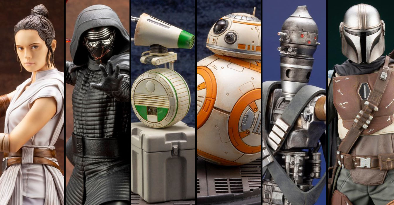 New Koto Star Wars Statues
