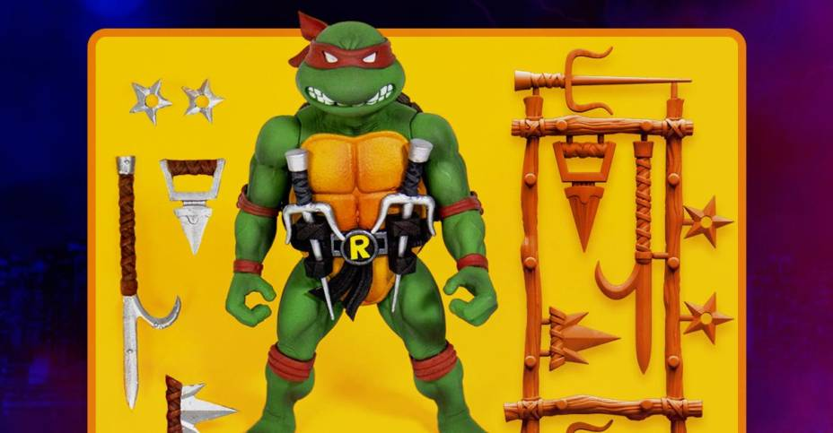 Super7 TMNT Wave 1 Update Raphael