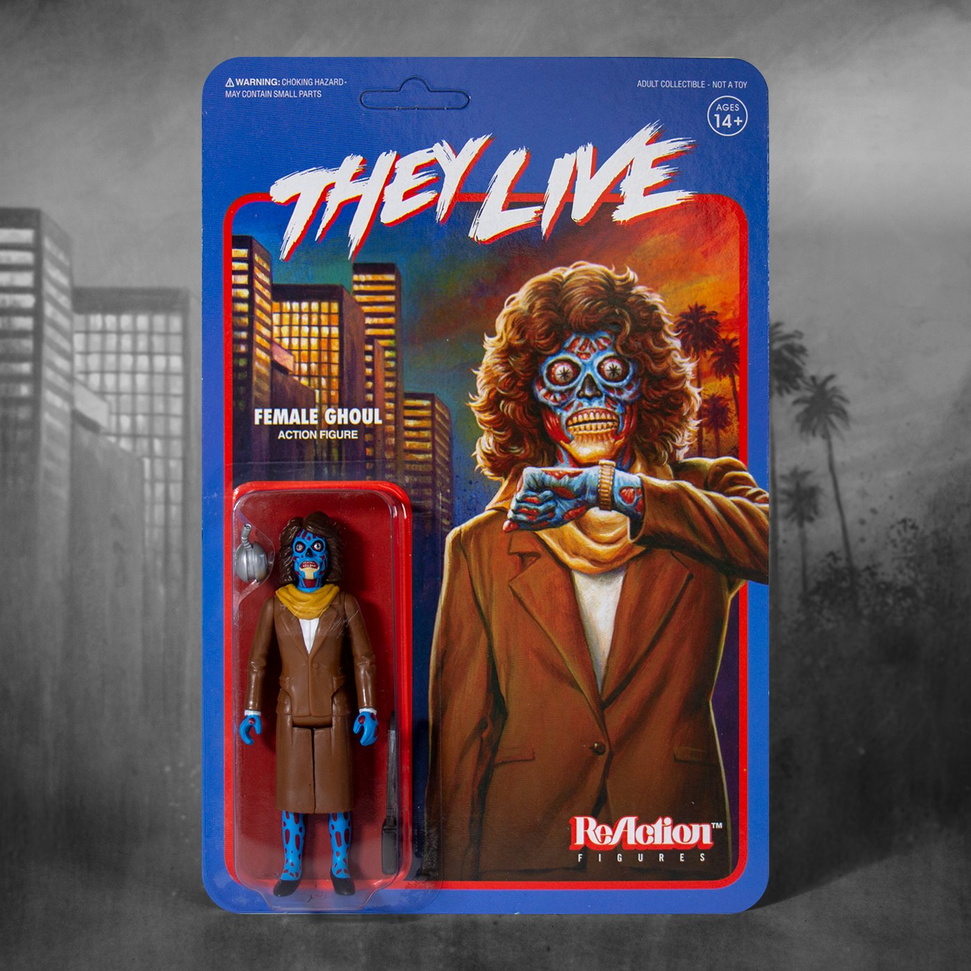 Super7 They Live Female Ghoul 1