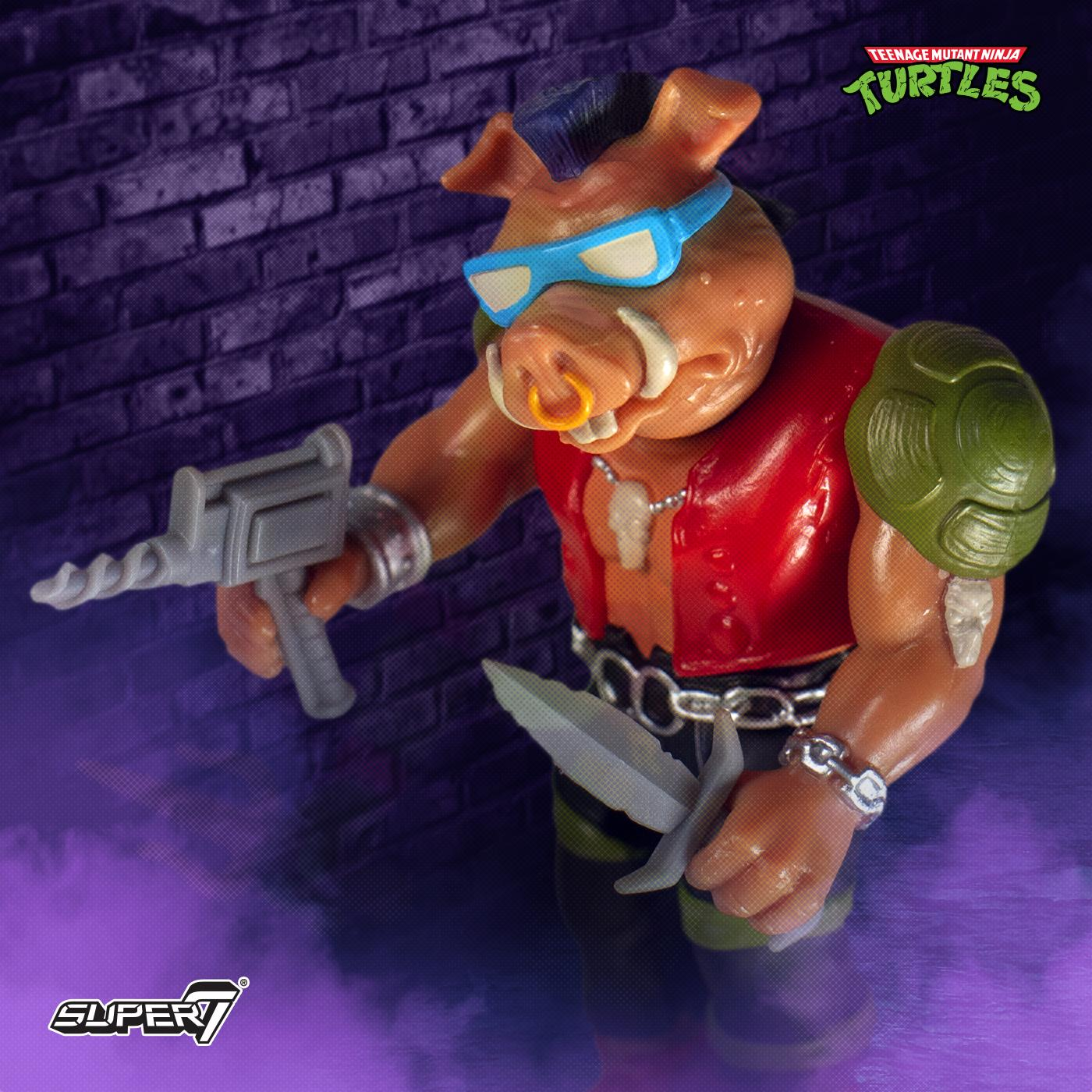 TMNT ReAction Wave 1 Bebop
