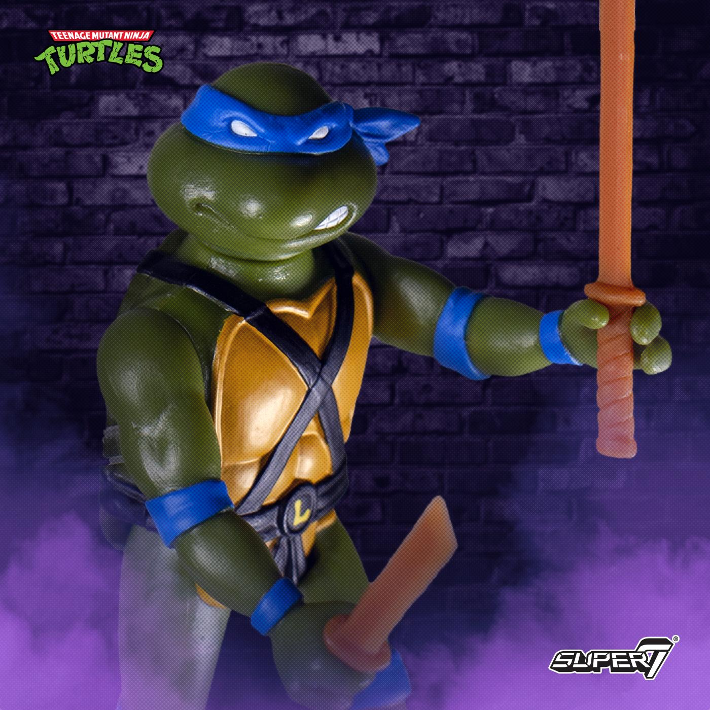 TMNT ReAction Wave 1 Leo