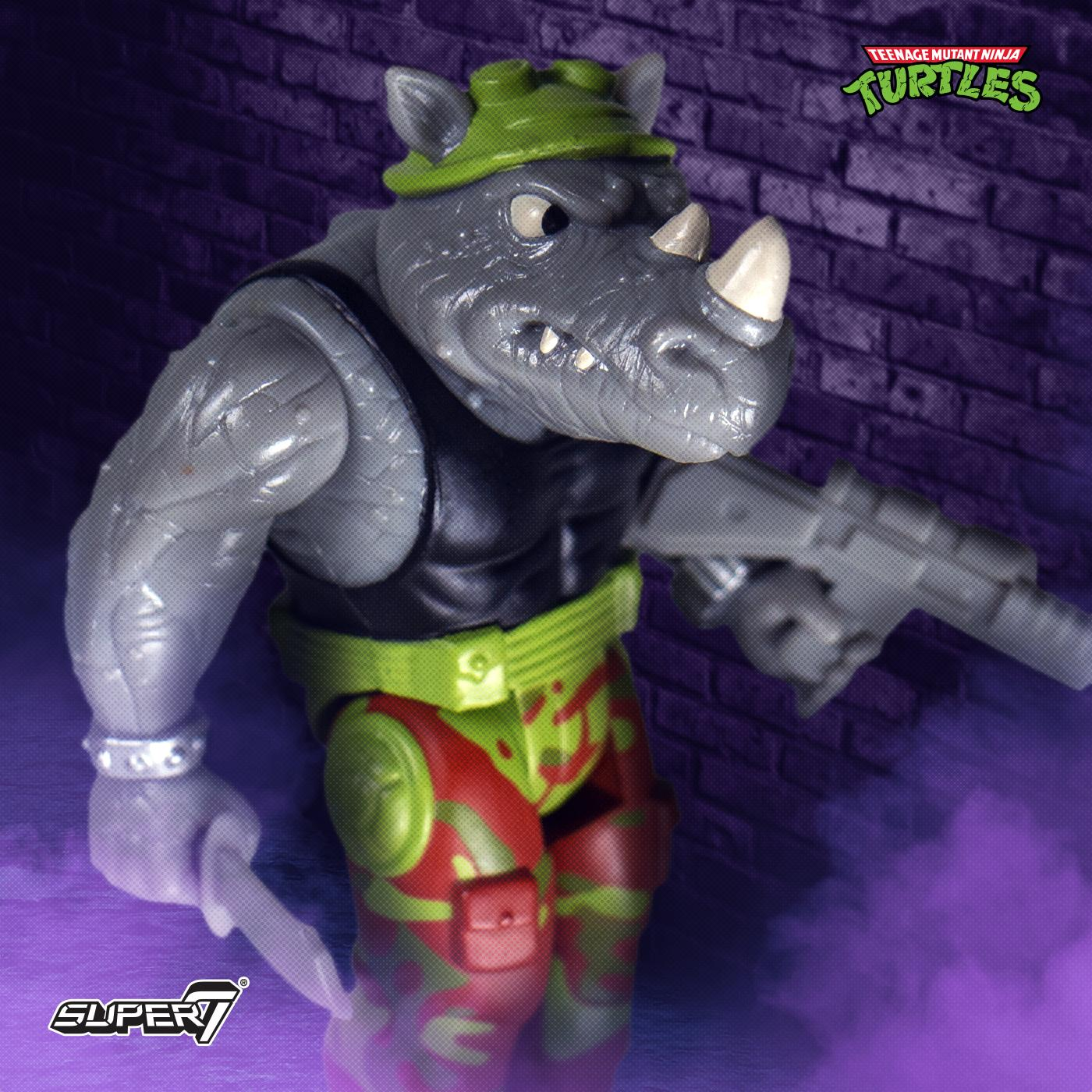 TMNT ReAction Wave 1 Rocksteady