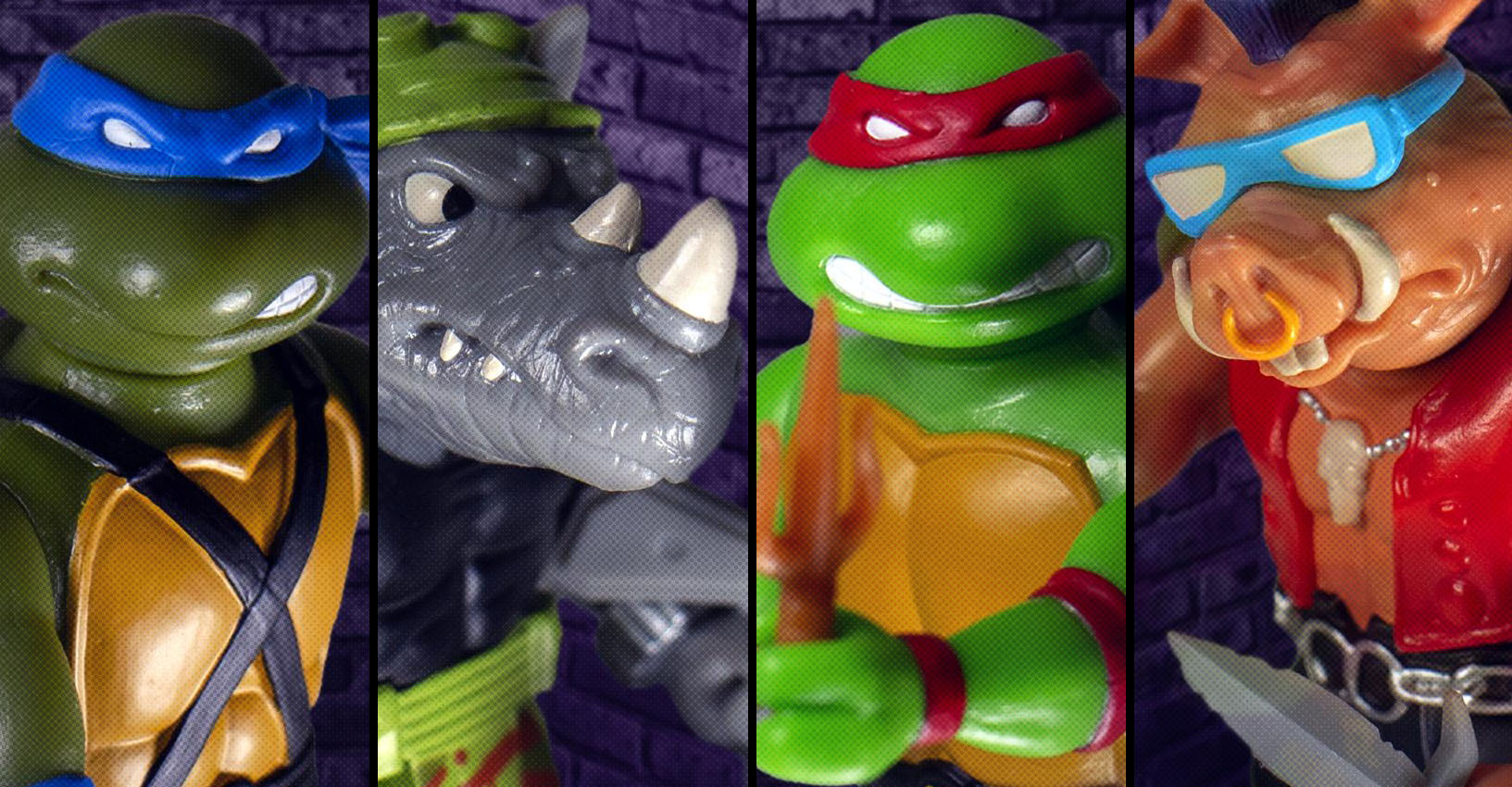TMNT ReAction Wave 1 Super7