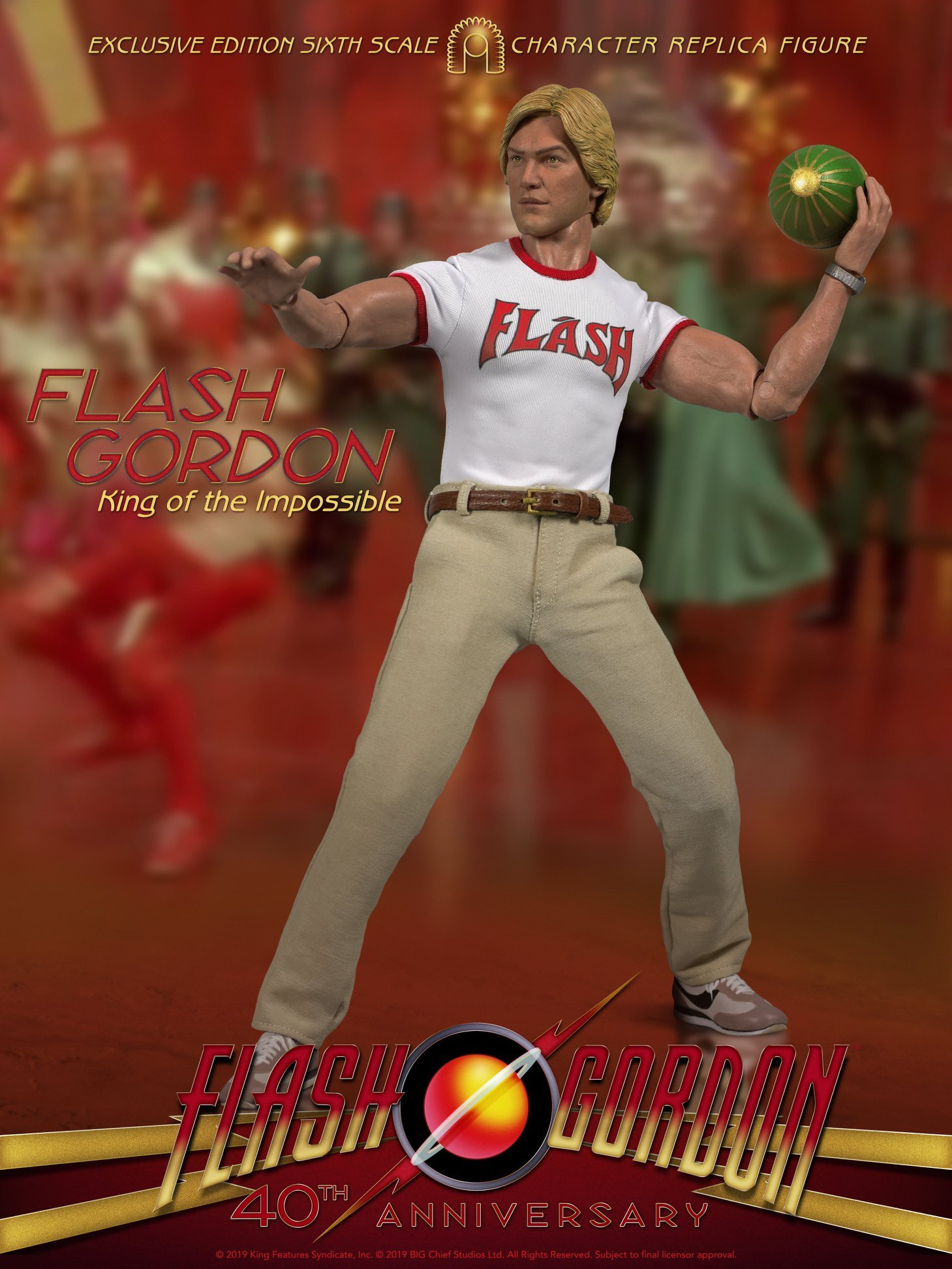 BCS Flash Gordon King of the Impossible 002