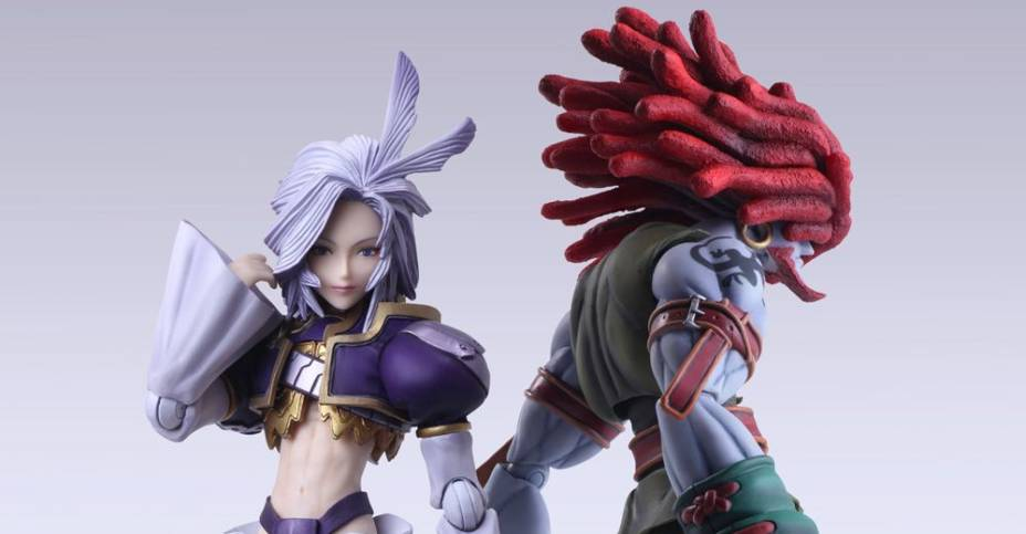 FFIX Bring Arts Kuja and Amarant 001