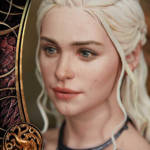 Game of Thrones Daenerys Statue 037