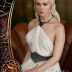 Game of Thrones Daenerys Statue 040