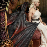 Game of Thrones Daenerys Statue 051