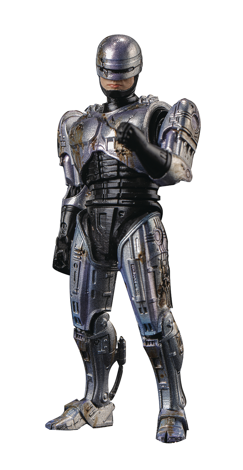 Hiya Robocop 1 Battle Damaged Figure