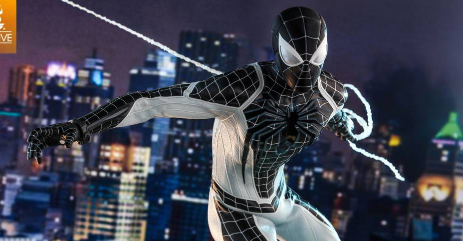 Hot Toys Negative Suit Spider Man 010