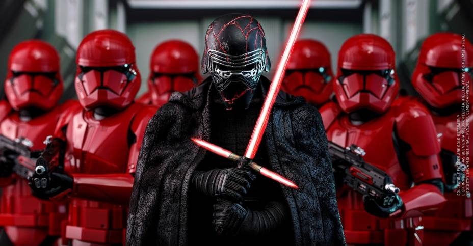 Hot Toys Rise of Skywalker Kylo Ren 002
