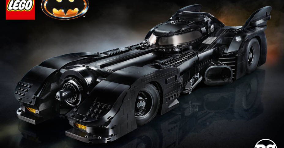 LEGO 1989 Batmobile Set 003