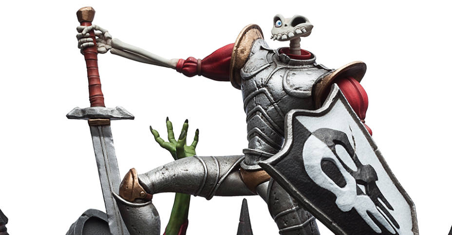 MediEvil Sir Dan Fortesque Statue 001